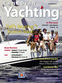 Canadian Yachting September 2010