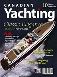 Canadian Yachting  October 2011