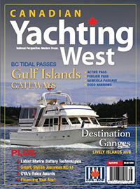 Canadian Yachting West April 2012