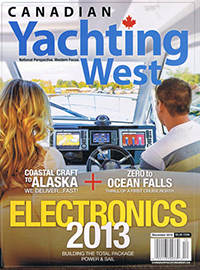 Canadian Yachting West December 2012