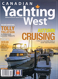 Canadian Yachting West October 2012
