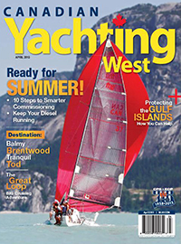 Canadian Yachting West April 2013