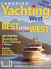 Canadian Yachting West August 2013