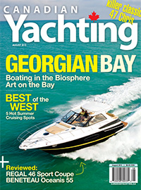 Canadian Yachting August 2013