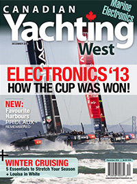 Canadian Yachting West December 2013