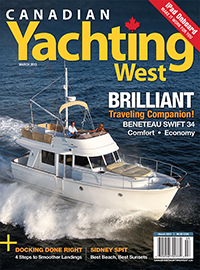 Canadian Yachting West March 2013