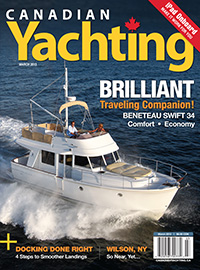 Canadian Yachting March 2013