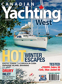 Canadian Yachting West October 2013