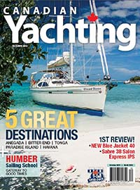 Canadian Yachting October 2013