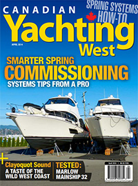 Canadian Yachting West April 2014