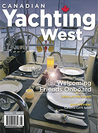 Canadian Yachting West August 2014