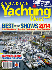 Canadian Yachting West February 2014
