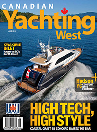 Canadian Yachting West June 2014