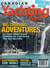 Canadian Yachting West March 2014