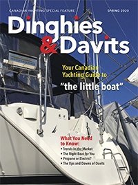 Dinghies & Davits Spring 2020