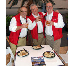 Canadian Yachting's Galley Guys at the Toronto Boat Show