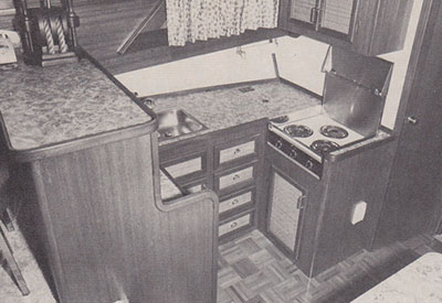 Trendsetter 40 Interior Kitchen