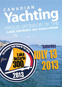 Canadian Yachting Sponsor of Lake Ontario 300