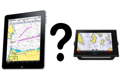 iPad or Chartplotter