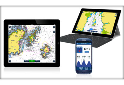 Navionics for iOS and Android