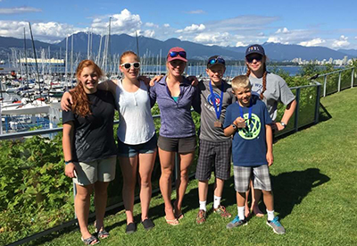 BC Sailing Championships in Squamish
