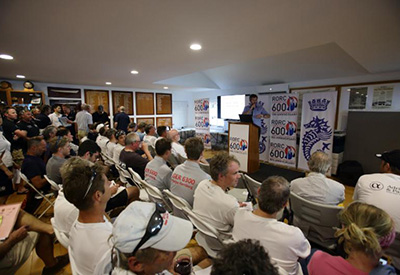 RORC Skippers Briefing