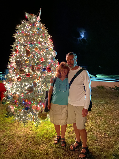 Staniel Cay Christmas Tree Lighting