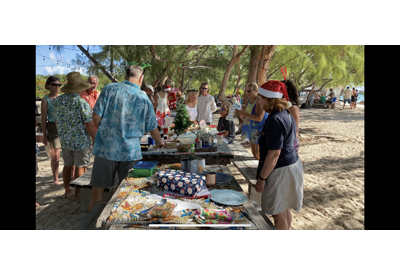Christmas Day Potluck on the Beach