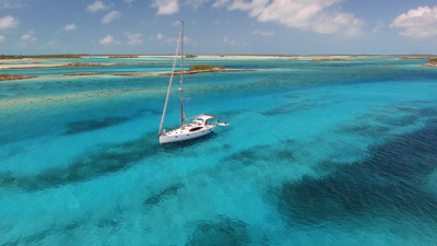 Pipe Creek in Exuma Island Group