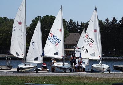 Junior Sailors Ready To Rock