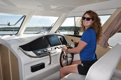 Jill Snider at the Helm