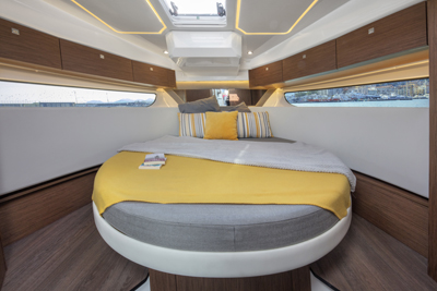 Forward Cabin Berth