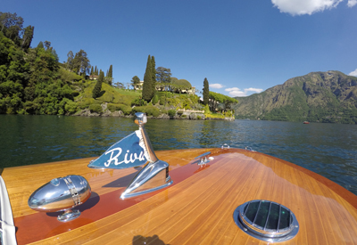 Riva And Lake Como