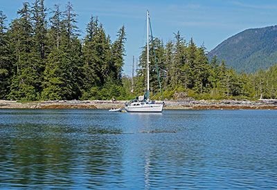 Sailboat At Burnsby
