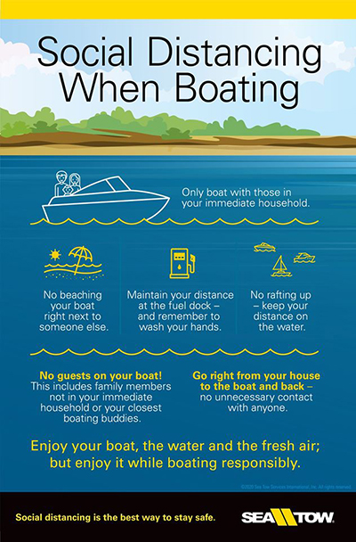 Sea Tow Social Distancing When Boating
