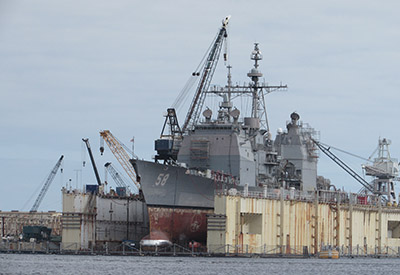 Drydock In St Johns River