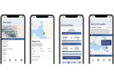 Sailing Plan app