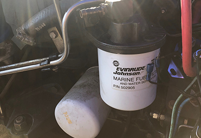 Spin on Style Fuel Filter