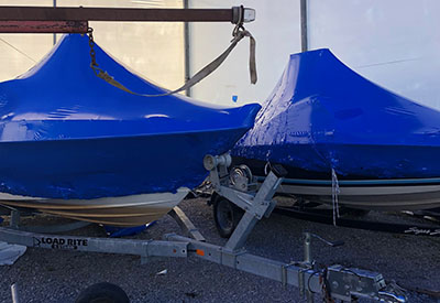 Shrink Wrap Boat Cover