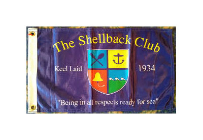 The Shellbacks Club Flag
