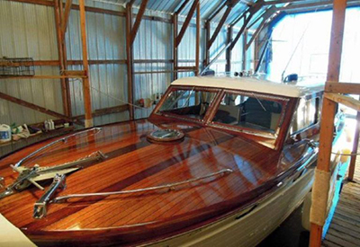 1952 Chris Craft 34ft Sedan Cruiser
