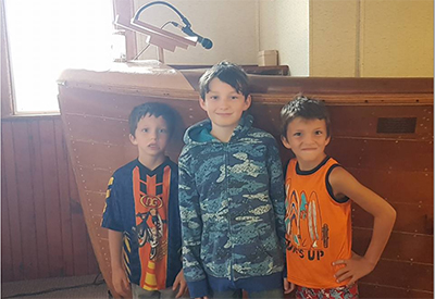 Kids at Sailors Church