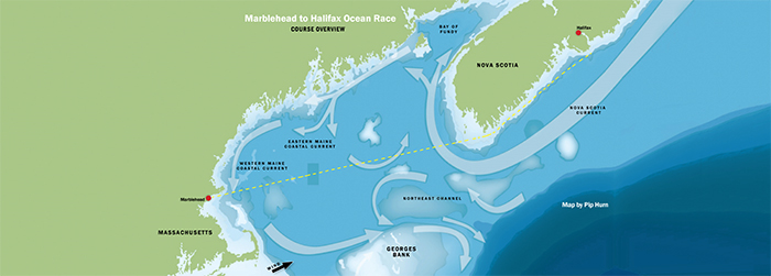 Marblehead Race Map