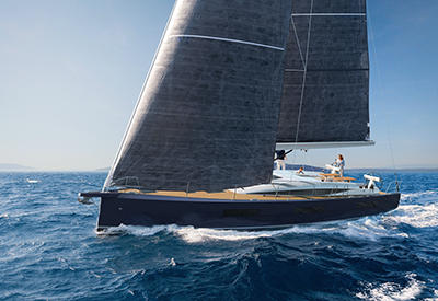 Jeanneau 60 Under Sail