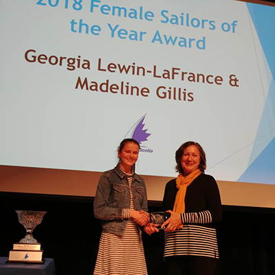 Female Sailors of the Year