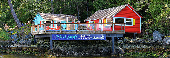 WAterfront Cottages at John Henrys