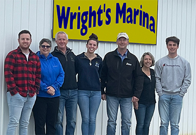 Wrights Marina Team