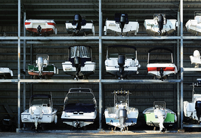 Boats In Storage