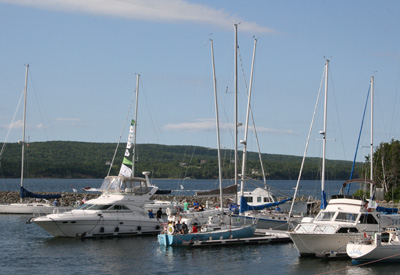 Cape Breton - St Peters Marina