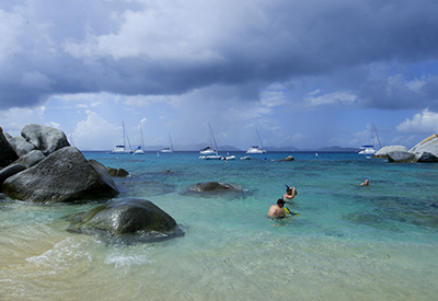The BVI's snorkelling